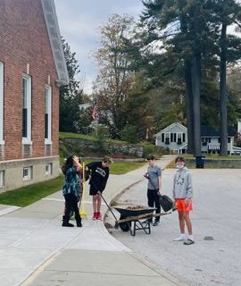 PrHS Students Volunteer on Old Stomping Grounds
